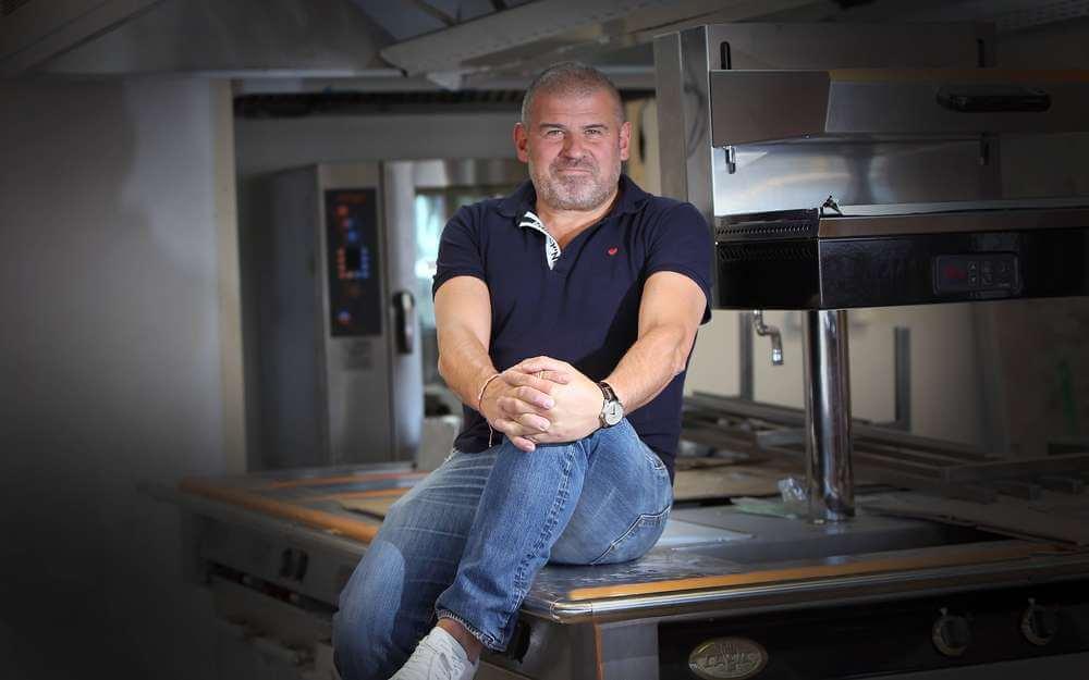 Un fourneau Elite installé dans le nouveau restaurant de Christian Etchebest à Pau