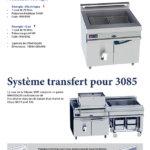 La nouvelle friteuse 3085