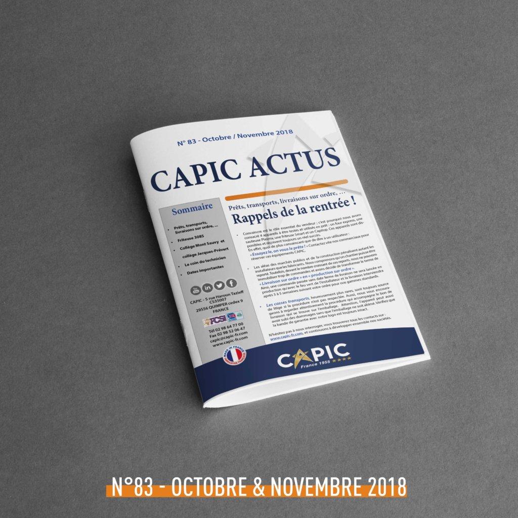 Capic Actus n°83 – Octobre / Novembre 2018