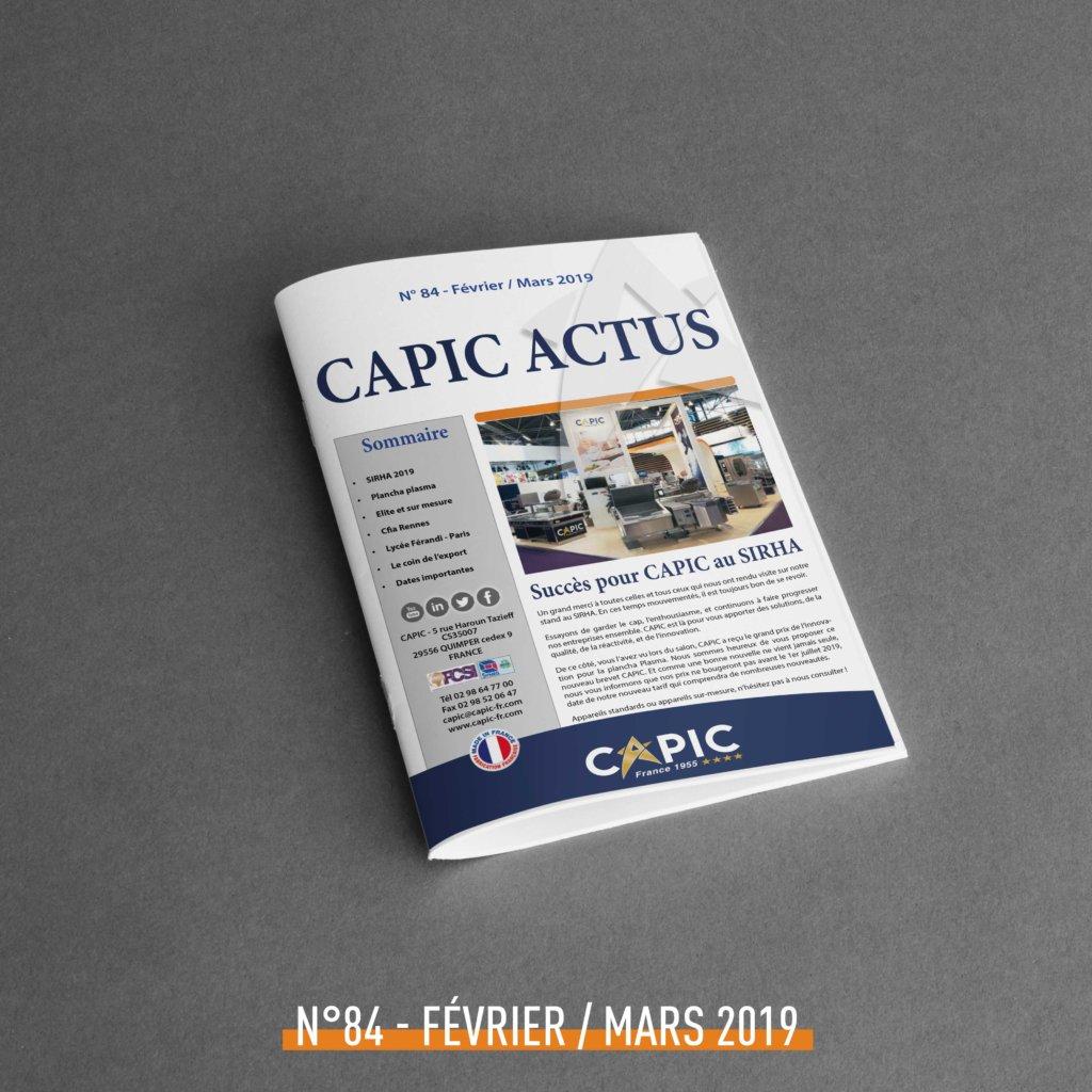 Capic Actus n°84 – Février / Mars 2019