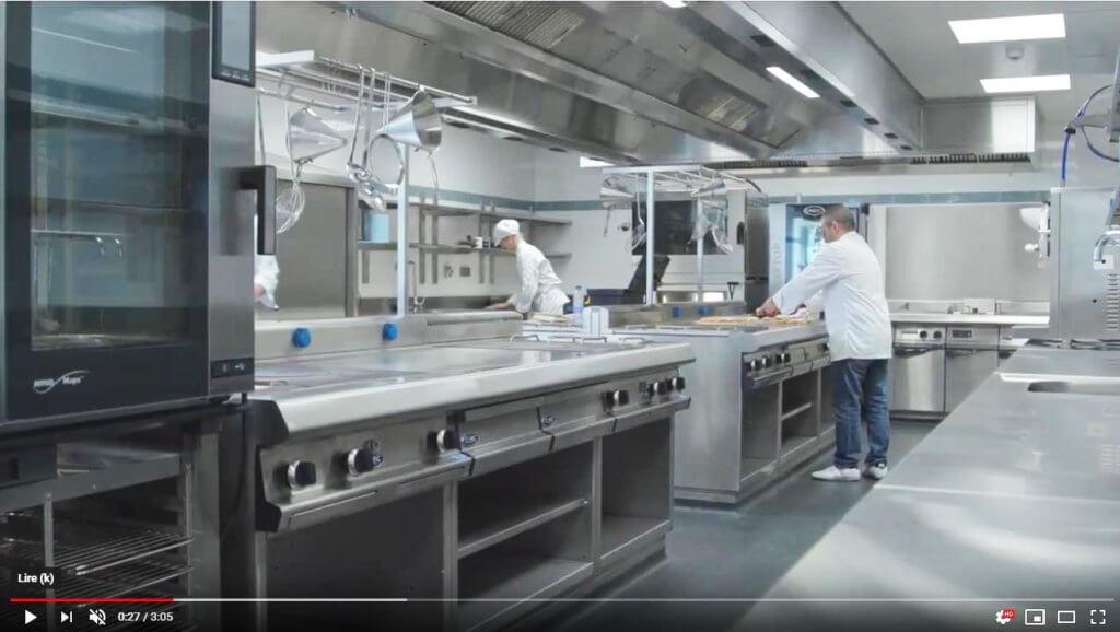 Nouvelle cuisine professionnelle de l'efp et son restaurant didactique de CAPIC. Magnifique vidéo de EFP. :)