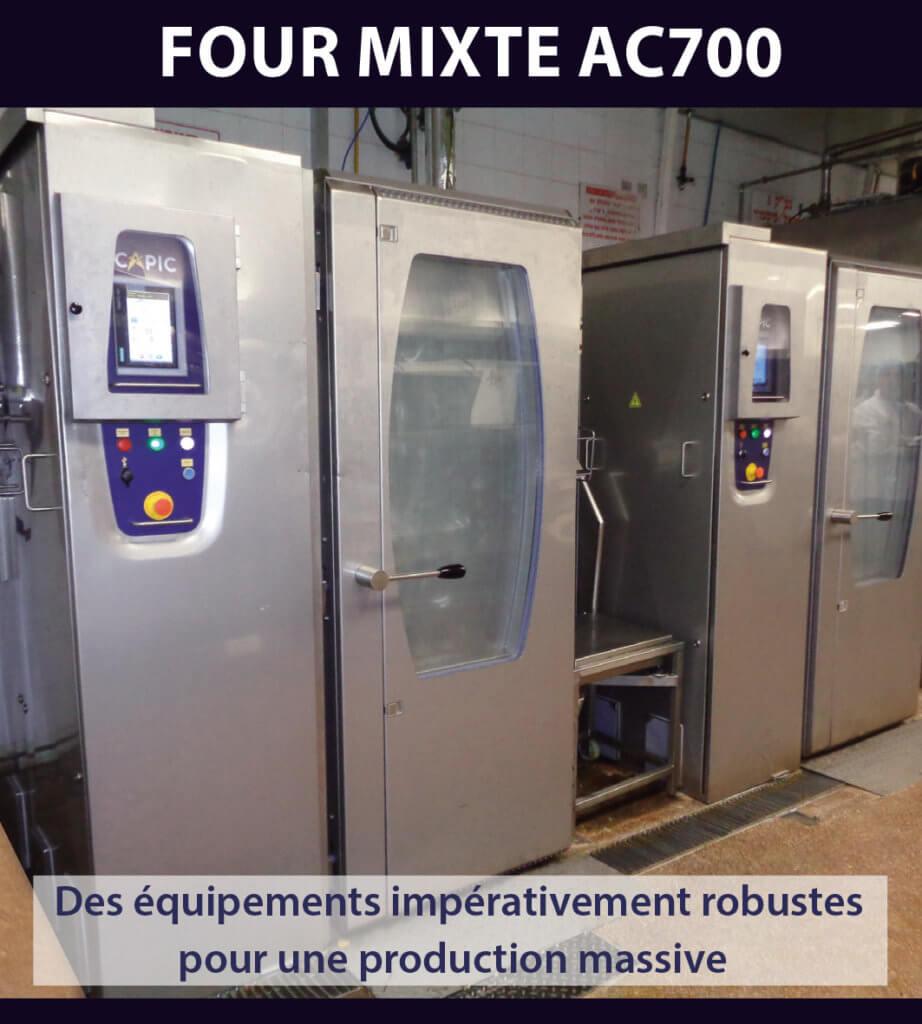 Des équipements impérativement robustes pour une production massive