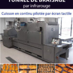Braisage par infrarouge pour les industries agroalimentaires