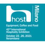 HOST à Milan du 22 au 26 OCTOBRE 2021